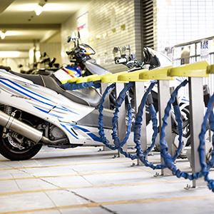 バイク置き場のある賃貸